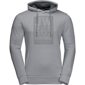 Jack Wolfskin 365 Felpa Uomo, slate grey